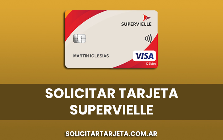 solicitar tarjeta supervielle
