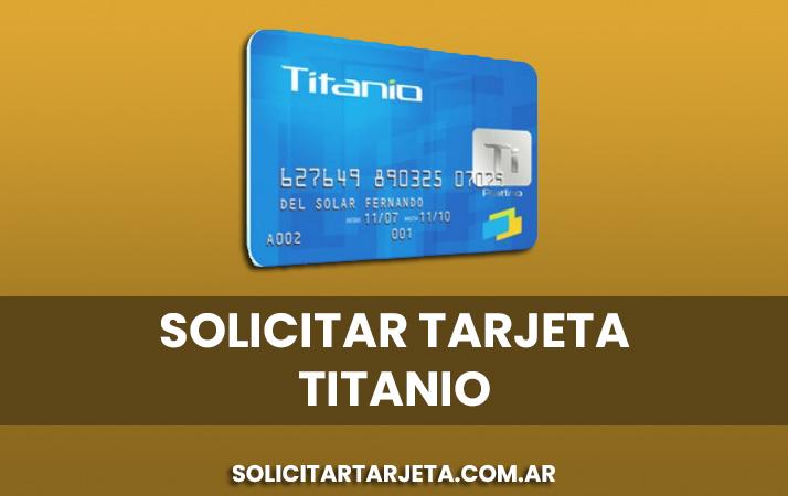 solicitar tarjeta titanio