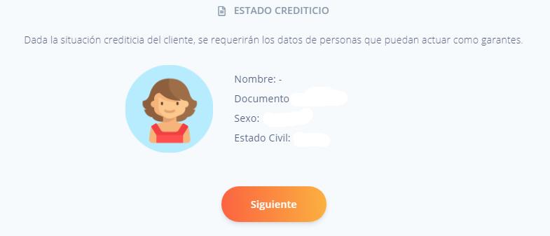 estado crediticio consultar data