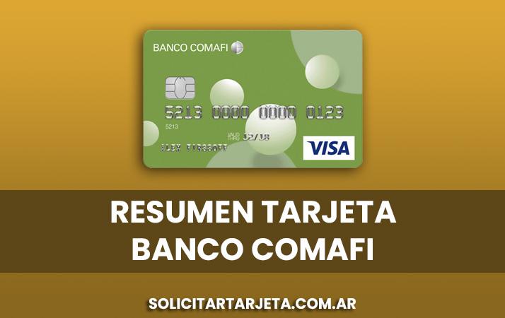 resumen tarjeta banco comafi